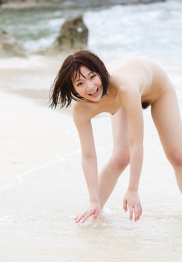 三次元 3次元 エロ画像 ビーチ ヌード 砂浜 海 べっぴん娘通信 39