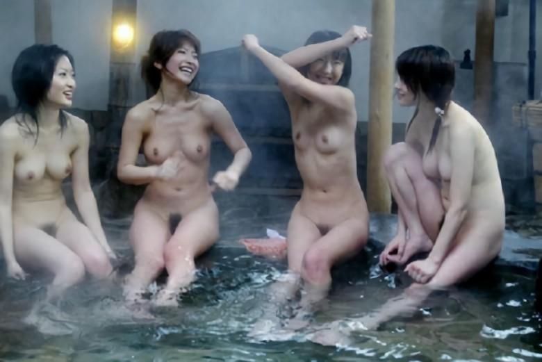 三次元 3次元 エロ画像 温泉 ヌード 複数女性 べっぴん娘通信 27
