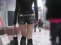 三次元 3次元 エロ画像 街撮り ブーツ 素人 美脚 べっぴん娘通信 01