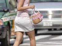 三次元 3次元 エロ画像 街撮り ミニスカート 素人 美脚 べっぴん娘通信 01