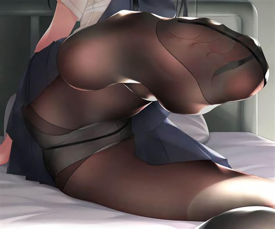 二次元 2次元 エロ画像 パンスト 美脚 べっぴん娘通信 29
