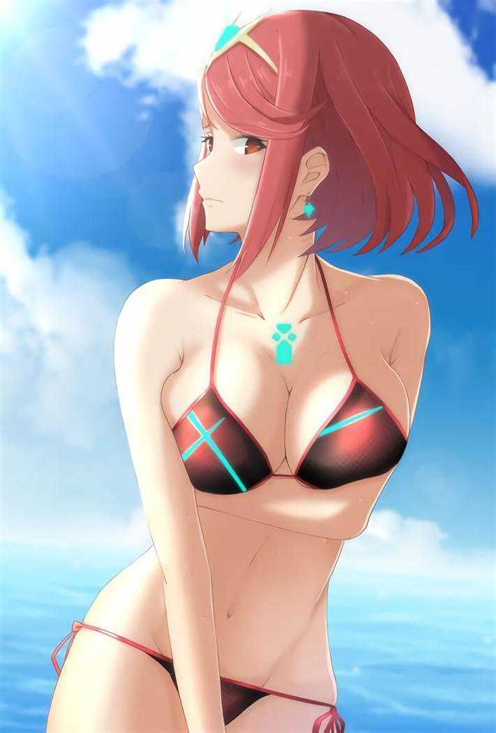 二次元 2次元 エロ画像 赤髪 べっぴん娘通信 33