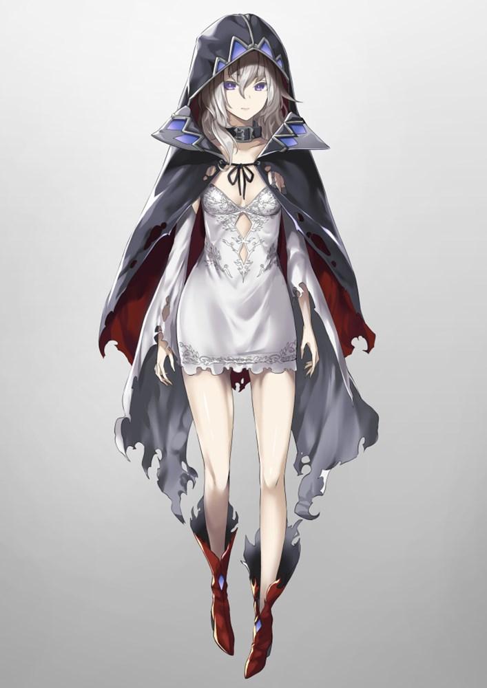 二次元 2次元 エロ画像 白髪 銀髪 美少女 べっぴん娘通信 15