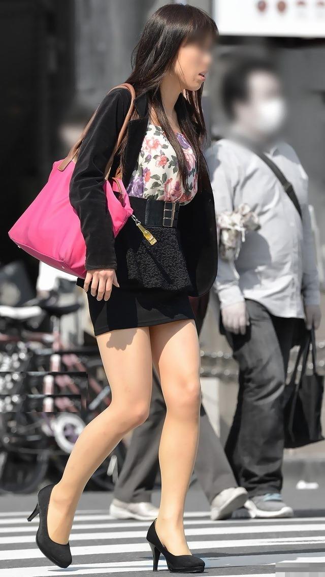 三次元 3次元 エロ画像 街撮り 素人 美脚 街角 べっぴん娘通信 04
