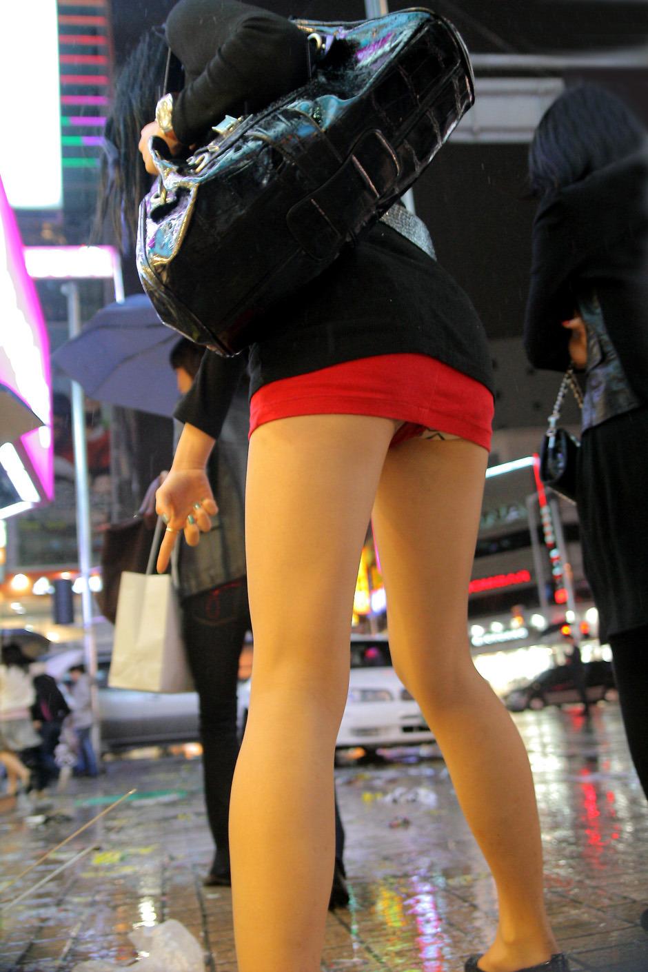 三次元 3次元 エロ画像 街撮り 素人 美脚 街角 べっぴん娘通信 06