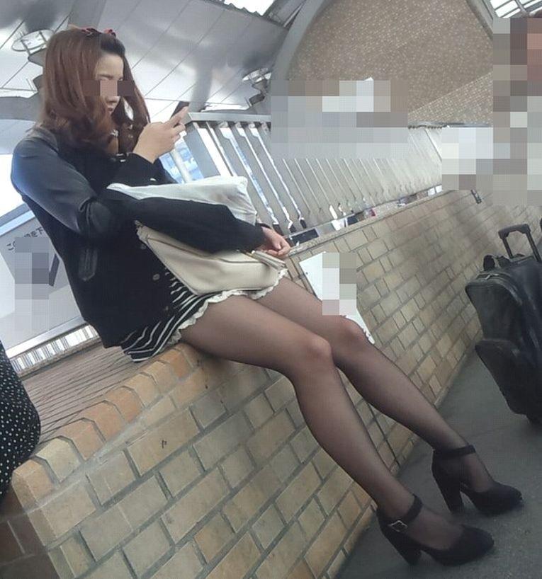 三次元 3次元 エロ画像 街撮り 素人 美脚 街角 べっぴん娘通信 40