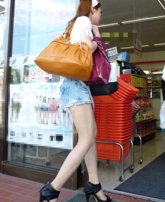三次元 3次元 エロ画像 美脚 街撮り 街角 素人 べっぴん娘通信 16