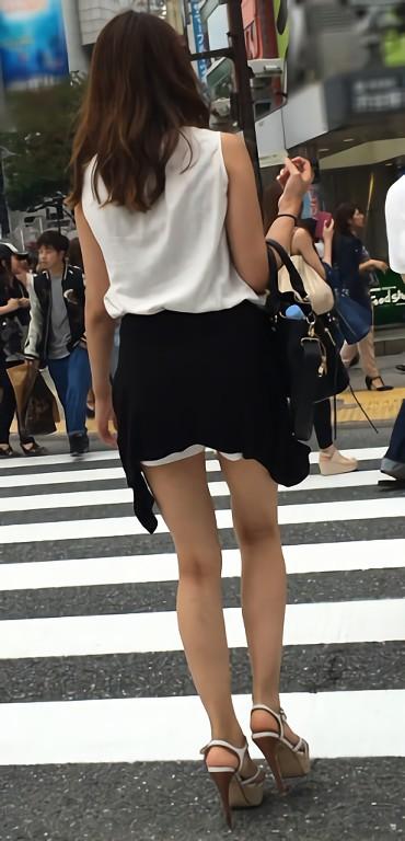 三次元 3次元 エロ画像 美脚 街撮り 街角 素人 べっぴん娘通信 30