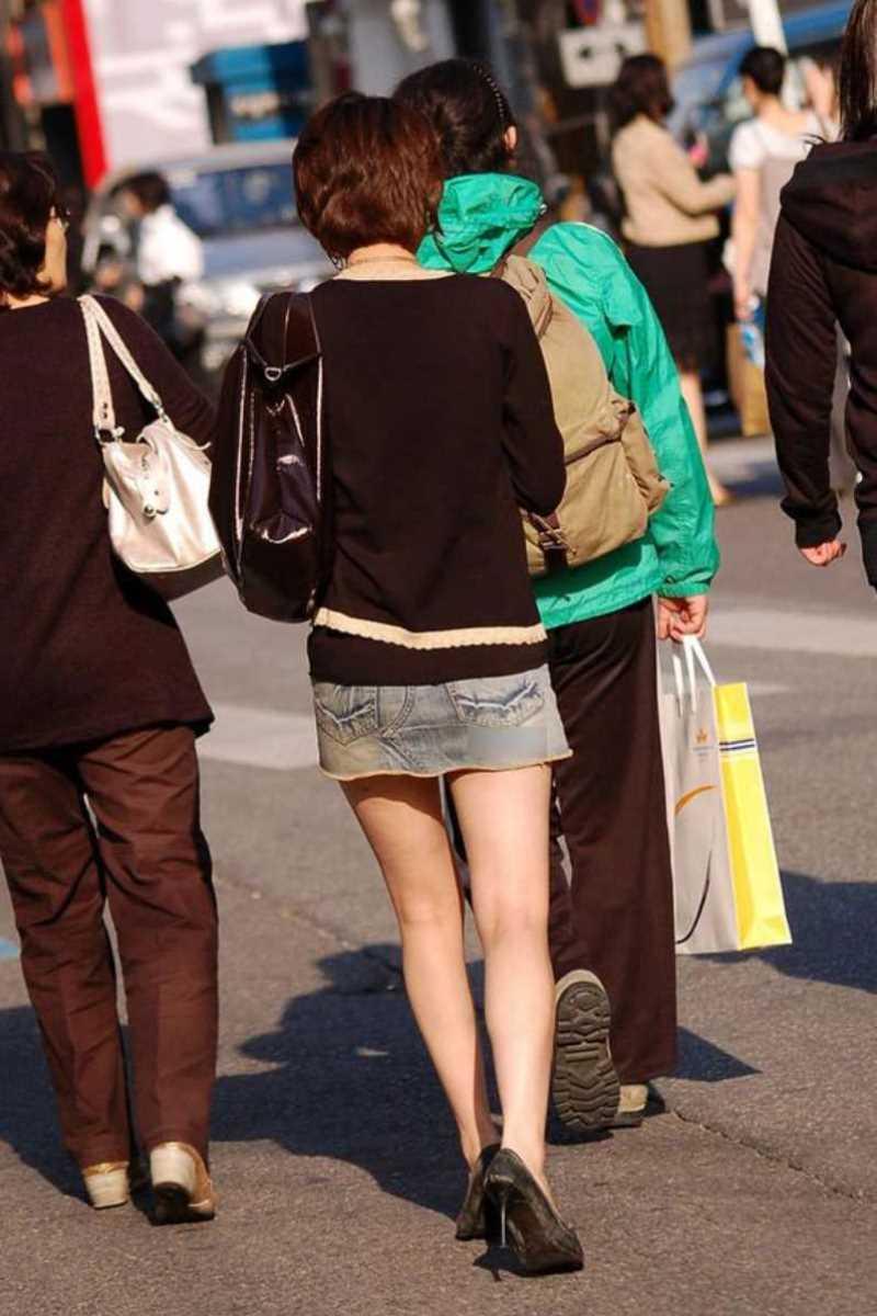 三次元 3次元 エロ画像 美脚 街撮り 街角 素人 べっぴん娘通信 34