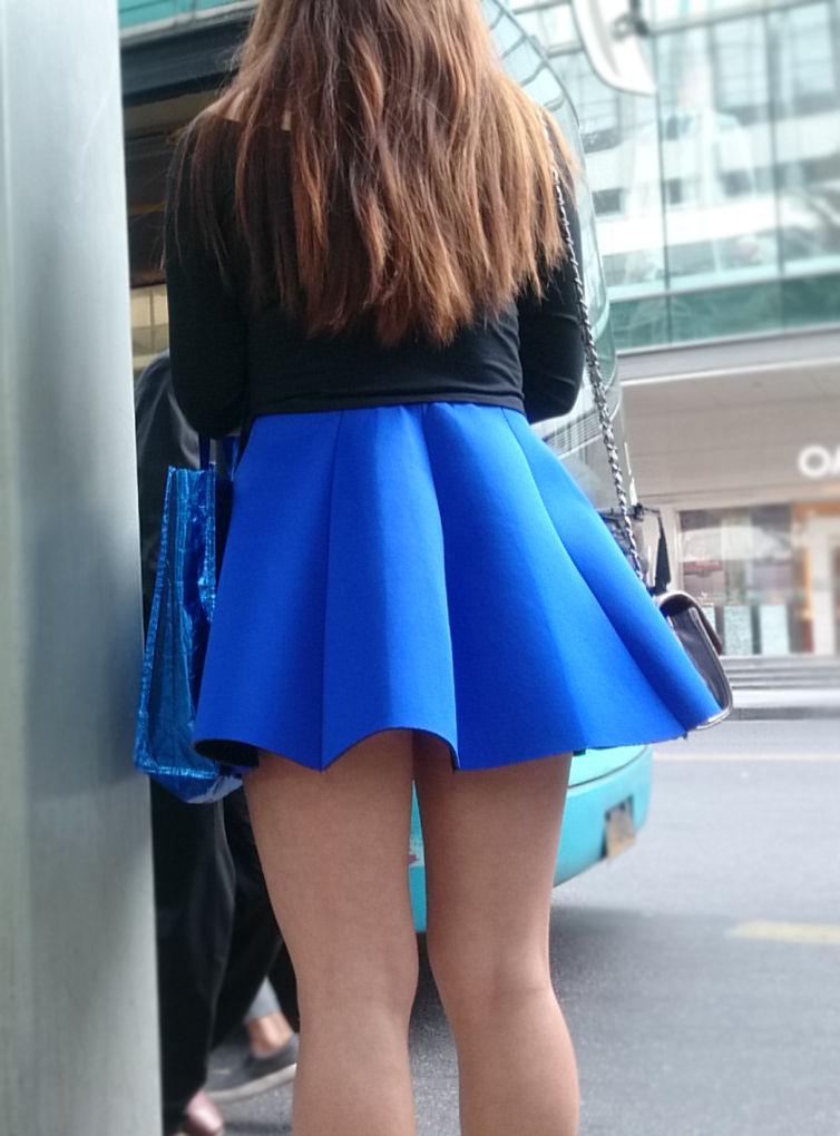 三次元 3次元 エロ画像 美脚 街撮り 街角 素人 べっぴん娘通信 35