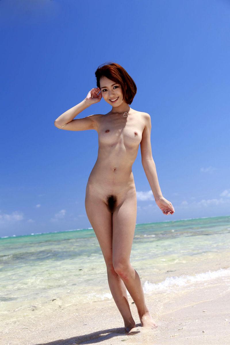 三次元 3次元 エロ画像 ビーチ ヌード 裸 べっぴん娘通信 20