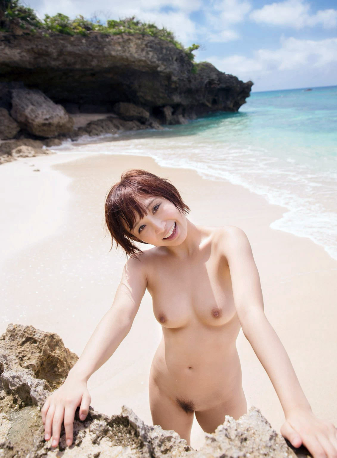 三次元 3次元 エロ画像 ビーチ ヌード 裸 べっぴん娘通信 39