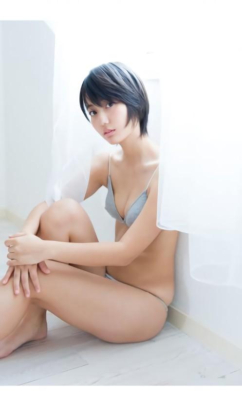 三次元 3次元 エロ画像 ビキニ 水着 ショートカット ショートヘアー べっぴん娘通信 34