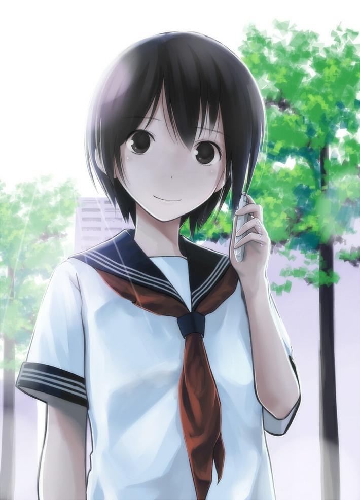二次元 2次元 エロ画像 黒髪 美少女 べっぴん娘通信 08