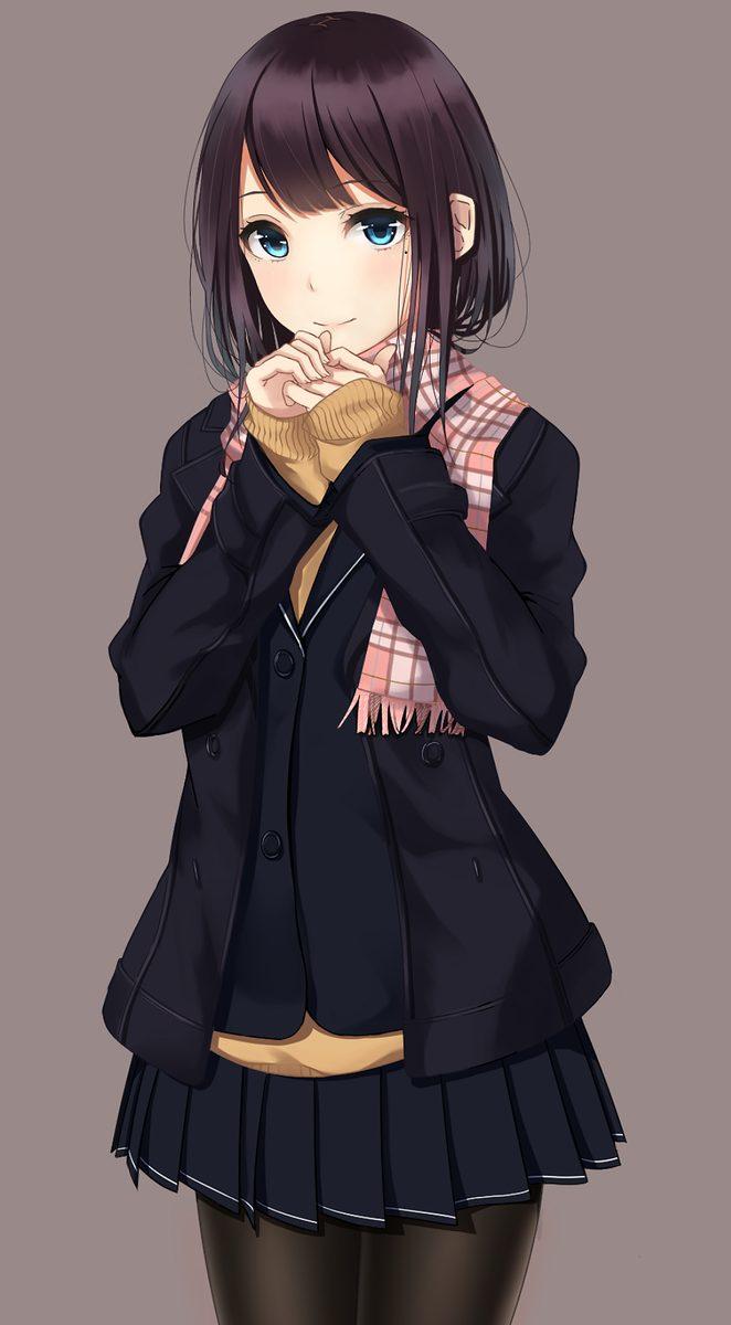 二次元 2次元 エロ画像 黒髪 美少女 べっぴん娘通信 40