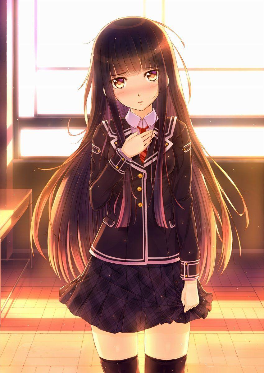 二次元 2次元 エロ画像 黒髪 美少女 べっぴん娘通信 17