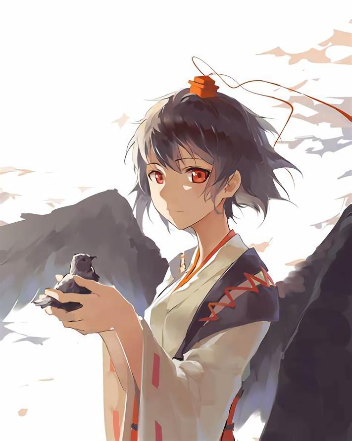 二次元 2次元 エロ画像 黒髪 美少女 べっぴん娘通信 22
