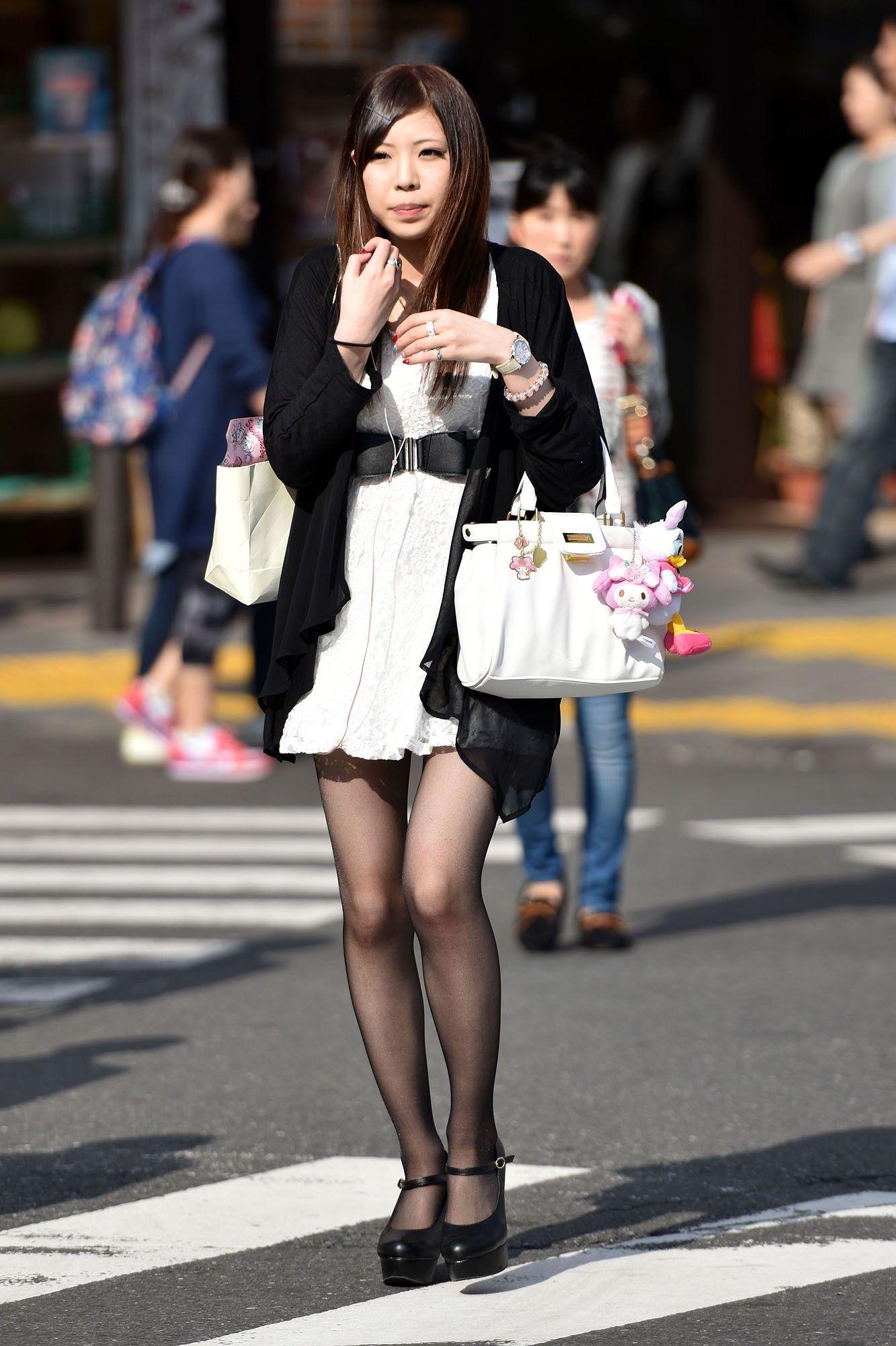 三次元 3次元 エロ画像 黒パンスト 街撮り 素人 美脚 べっぴん娘通信 04