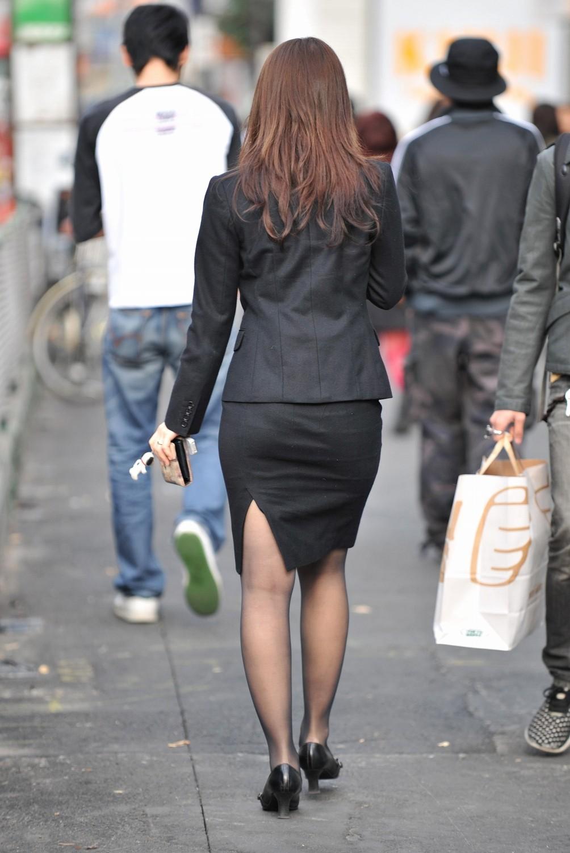 三次元 3次元 エロ画像 黒パンスト 街撮り 素人 美脚 べっぴん娘通信 37
