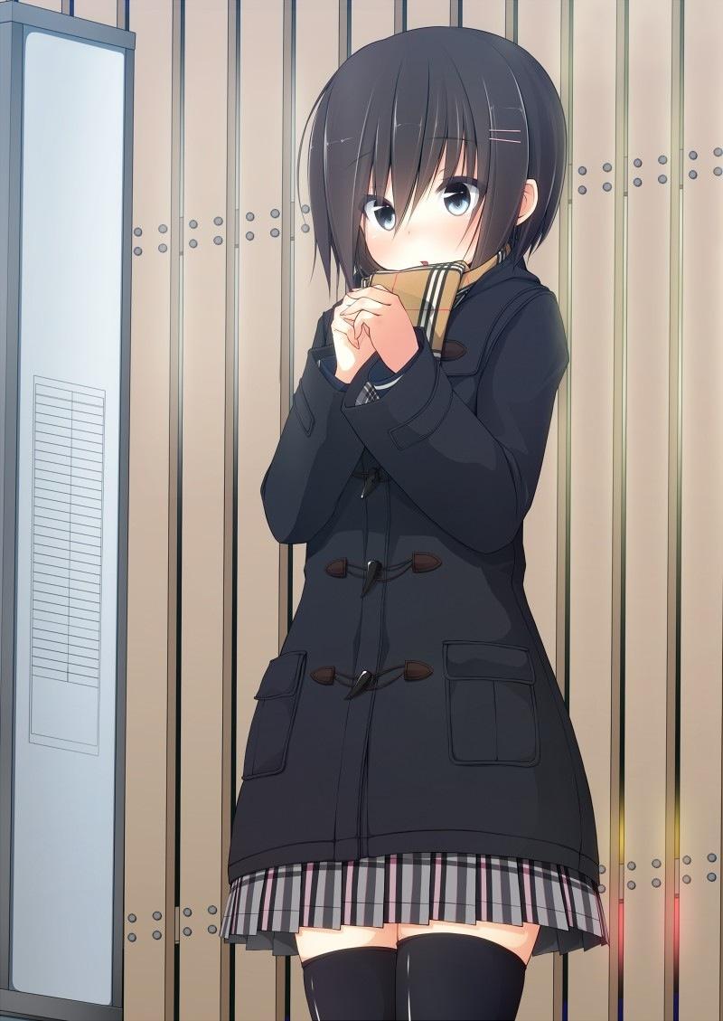 二次元 2次元 エロ画像 ショートカット ショートヘアー 女子校生 JK べっぴん娘通信 09