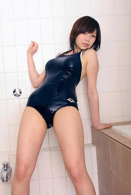 三次元 3次元 エロ画像  スクール水着 スク水 ずぶ濡れ べっぴん娘通信 35