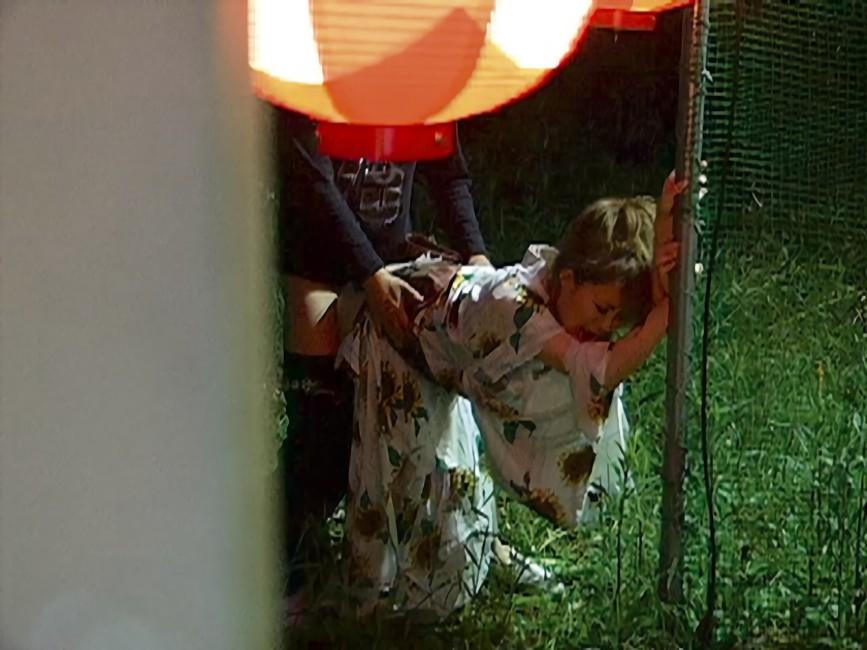 三次元 3次元 エロ画像 浴衣 和装 野外 屋外 露出 羞恥 べっぴん娘通信 11