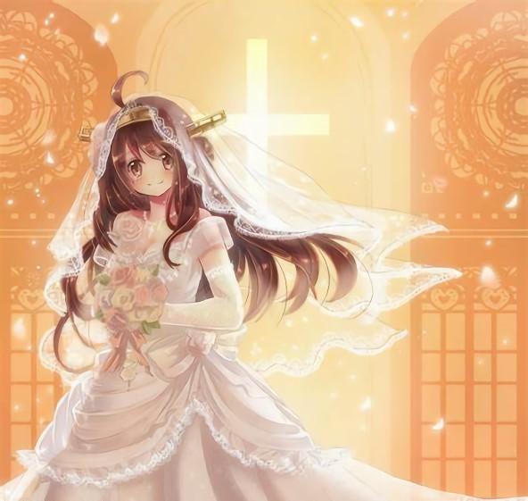 二次元 2次元 エロ画像 ウェディングドレス 花嫁 べっぴん娘通信 14