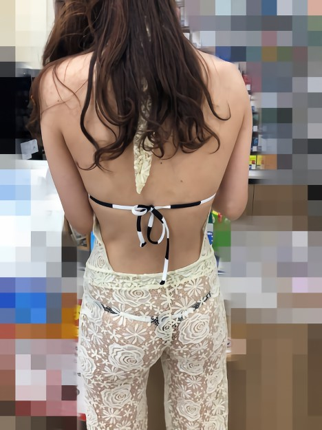 三次元 3次元 エロ画像 背中 美人 べっぴん娘通信 38