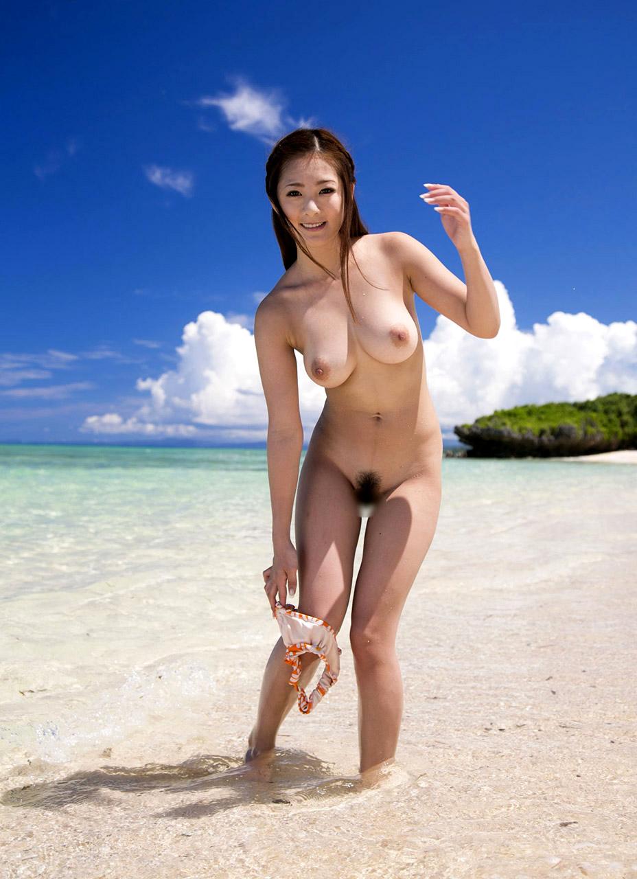 三次元 3次元 エロ画像 ビーチ ヌード 裸 野外 屋外 露出 べっぴん娘通信 17