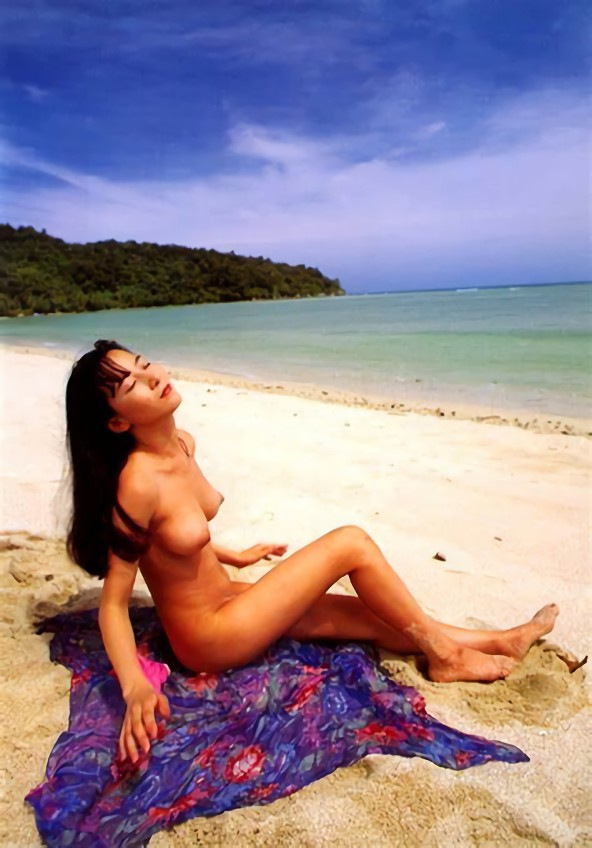 三次元 3次元 エロ画像 ビーチ ヌード 裸 野外 屋外 露出 べっぴん娘通信 28