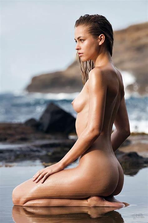 三次元 3次元 エロ画像 ビーチ ヌード 裸 野外 屋外 露出 べっぴん娘通信 31
