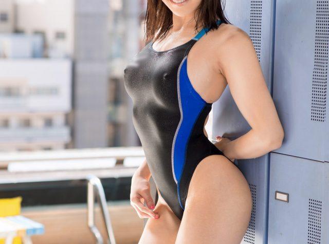 三次元 3次元 エロ画像 競泳水着 べっぴん娘通信 01