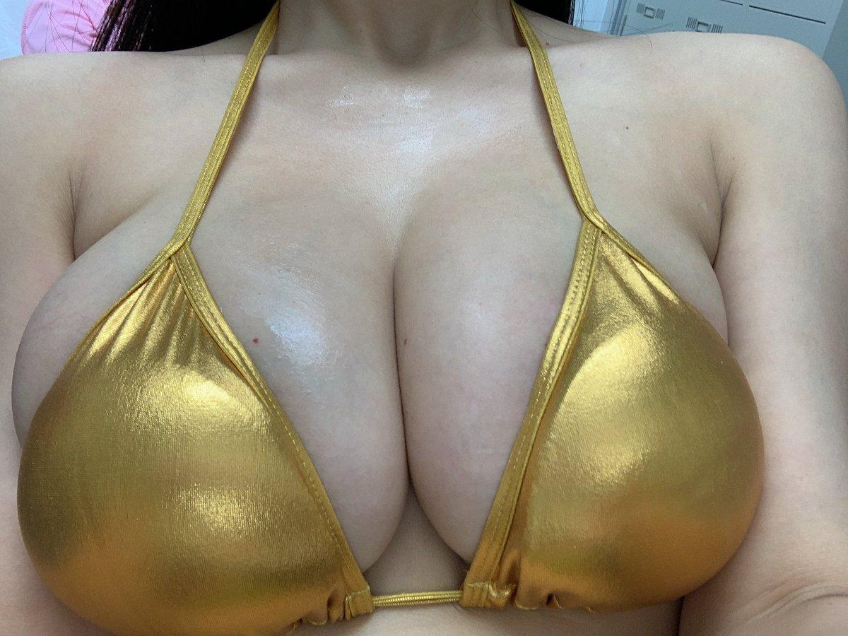 三次元 3次元 エロ画像 ビキニ 金色 水着 べっぴん娘通信 08