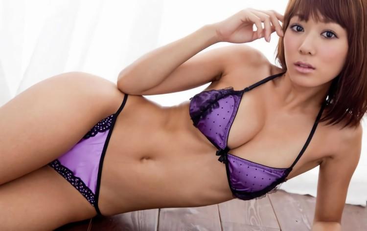 三次元 3次元 エロ画像 ランジェリー 紫 下着 べっぴん娘通信 18