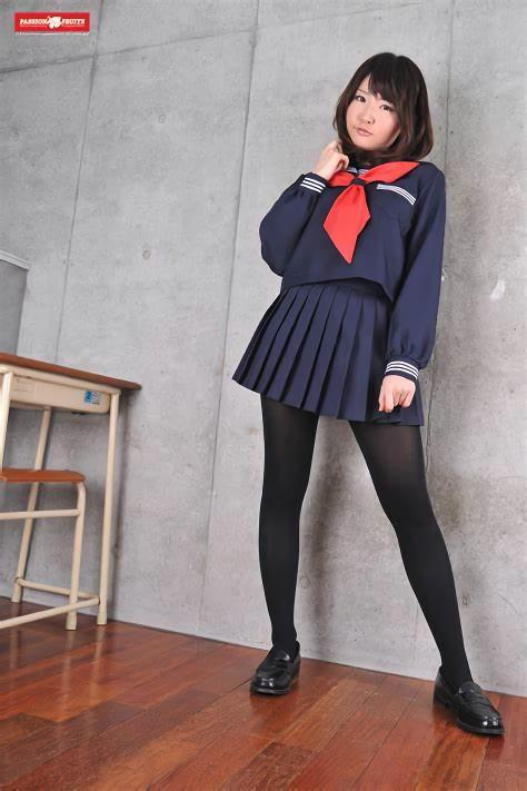 三次元 3次元 エロ画像 セーラー服 制服 JK 女子校生 パンスト ストッキング べっぴん娘通信 24
