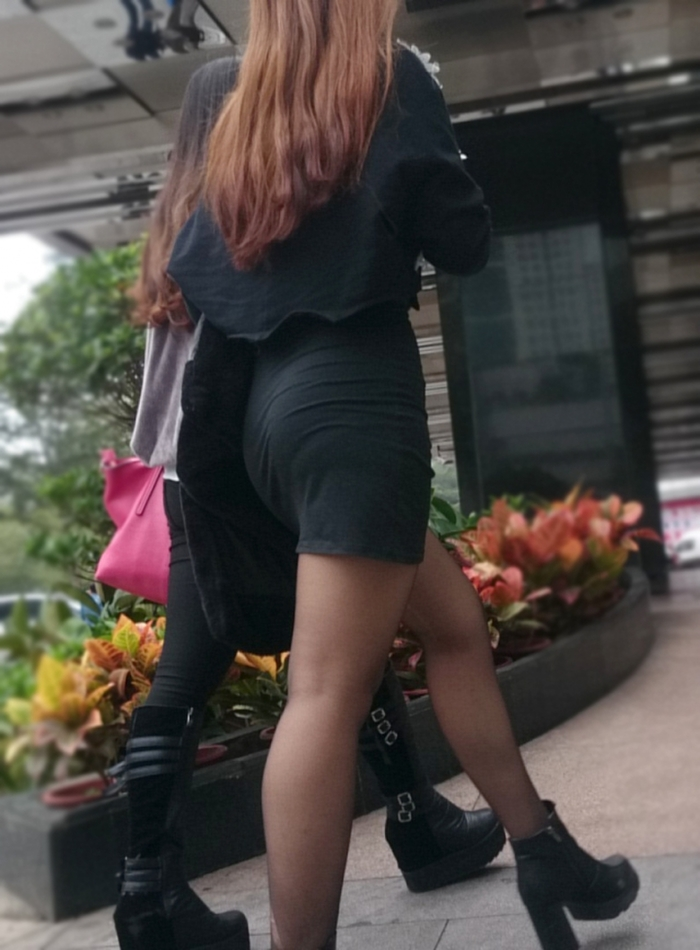 三次元 3次元 エロ画像 街撮り ブーツ 素人 美脚 街角 べっぴん娘通信 03