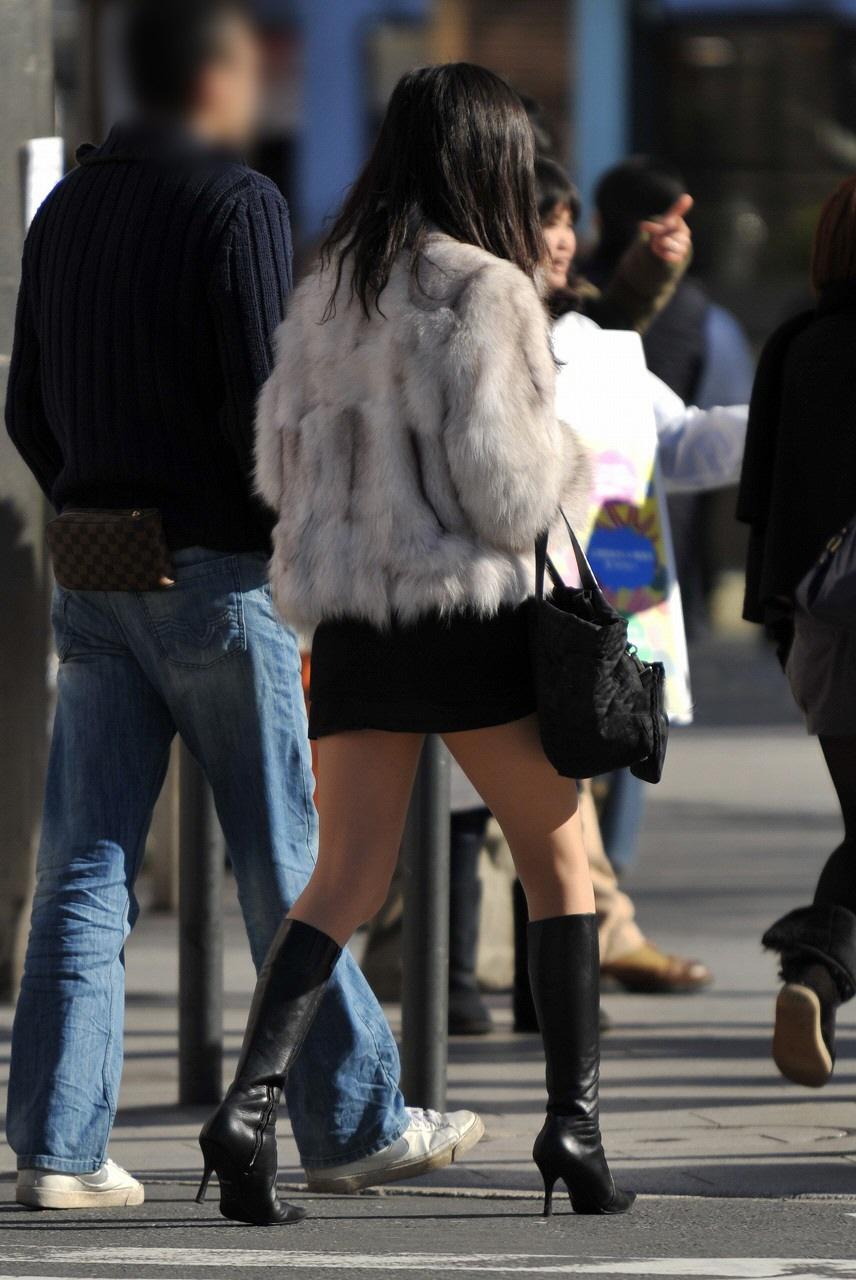 三次元 3次元 エロ画像 街撮り ブーツ 素人 美脚 街角 べっぴん娘通信 17