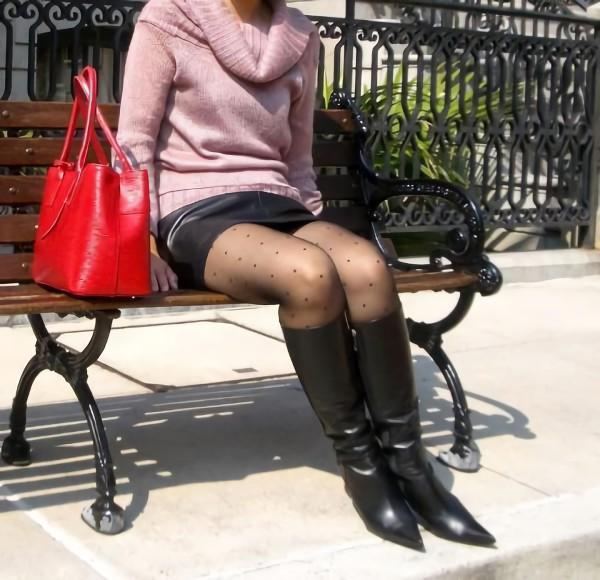三次元 3次元 エロ画像 街撮り ブーツ 素人 美脚 街角 べっぴん娘通信 23