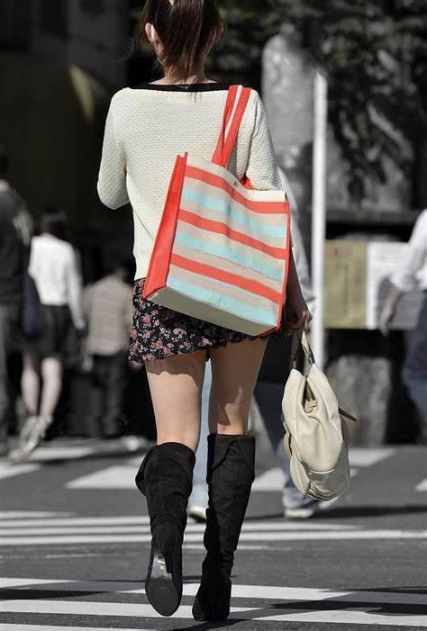 三次元 3次元 エロ画像 街撮り ブーツ 素人 美脚 街角 べっぴん娘通信 30