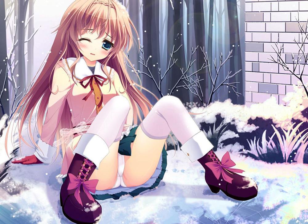 二次元 2次元 エロ画像 雪景色 べっぴん娘通信 32