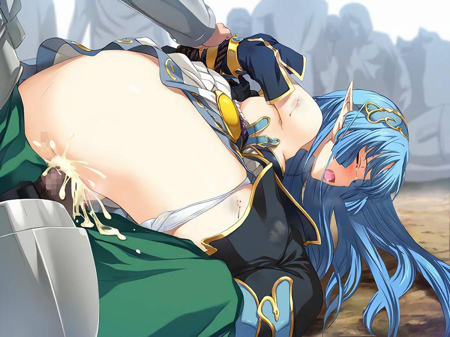 二次元 2次元 エロ画像 女騎士 女戦士 べっぴん娘通信 17
