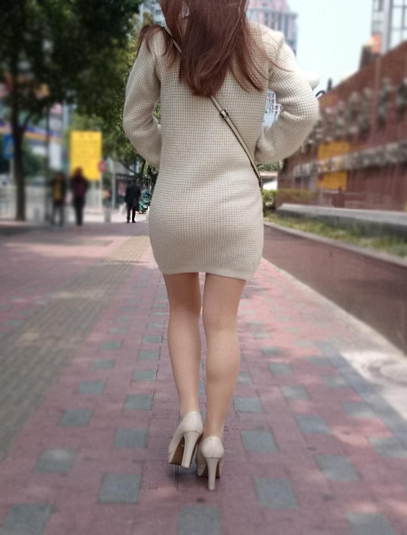 三次元 3次元 エロ画像 美脚 素人 街撮り 街角 べっぴん娘通信 32