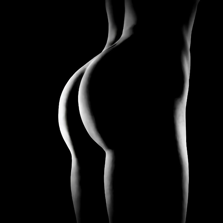 三次元 3次元 エロ画像 白黒 モノクロ ヌード べっぴん娘通信 17