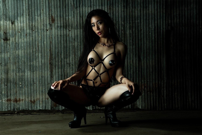 三次元 3次元 エロ画像 廃墟 美女 ヌード べっぴん娘通信 22