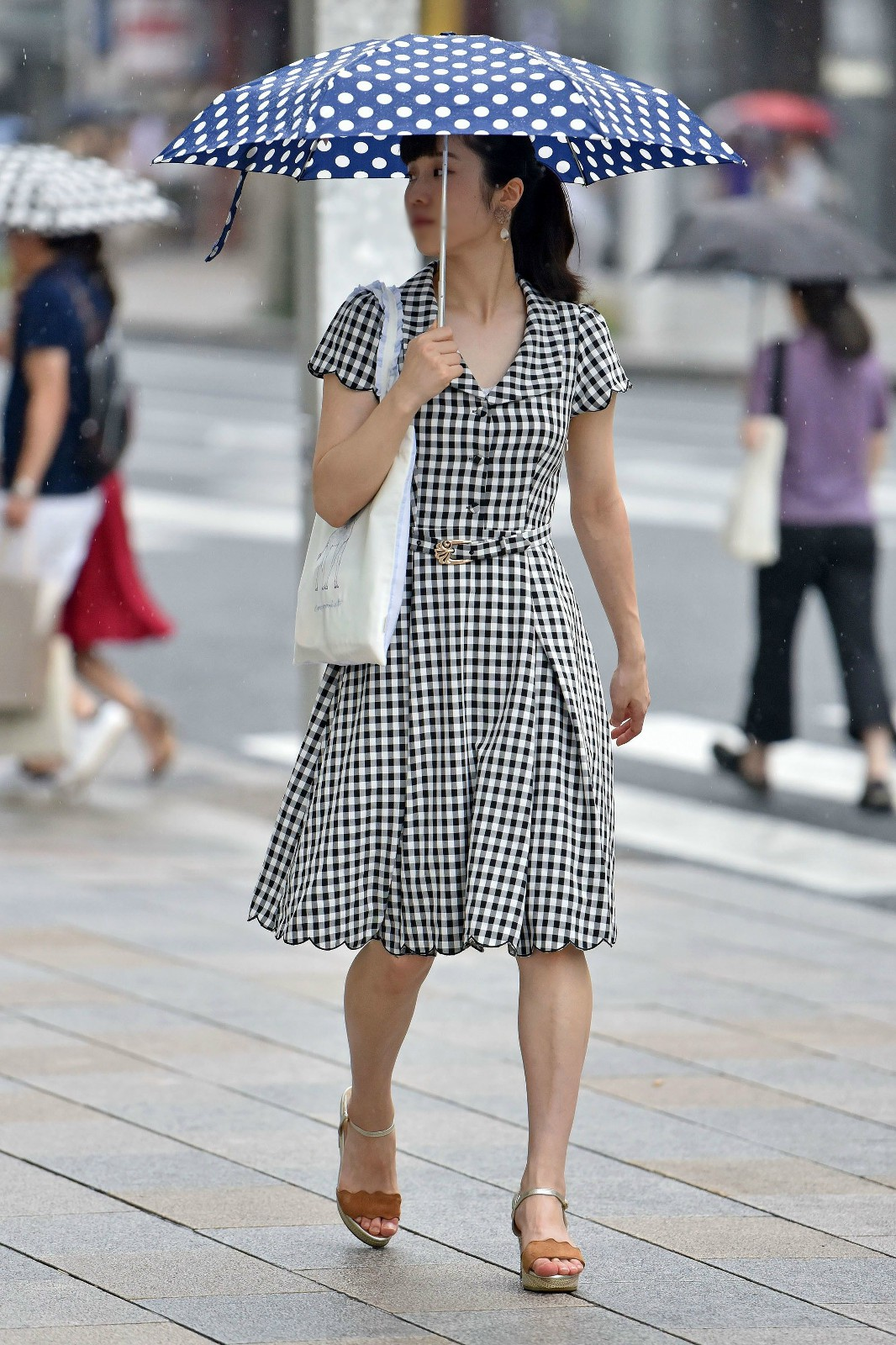 三次元 3次元 エロ画像 ワンピース 街撮り 素人 街角 べっぴん娘通信 14