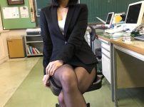 三次元 3次元 エロ画像 女教師 黒パンスト べっぴん娘通信 01