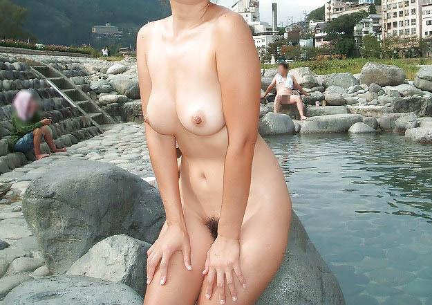 三次元 3次元 エロ画像 温泉 風呂 素人 ヌード べっぴん娘通信 07