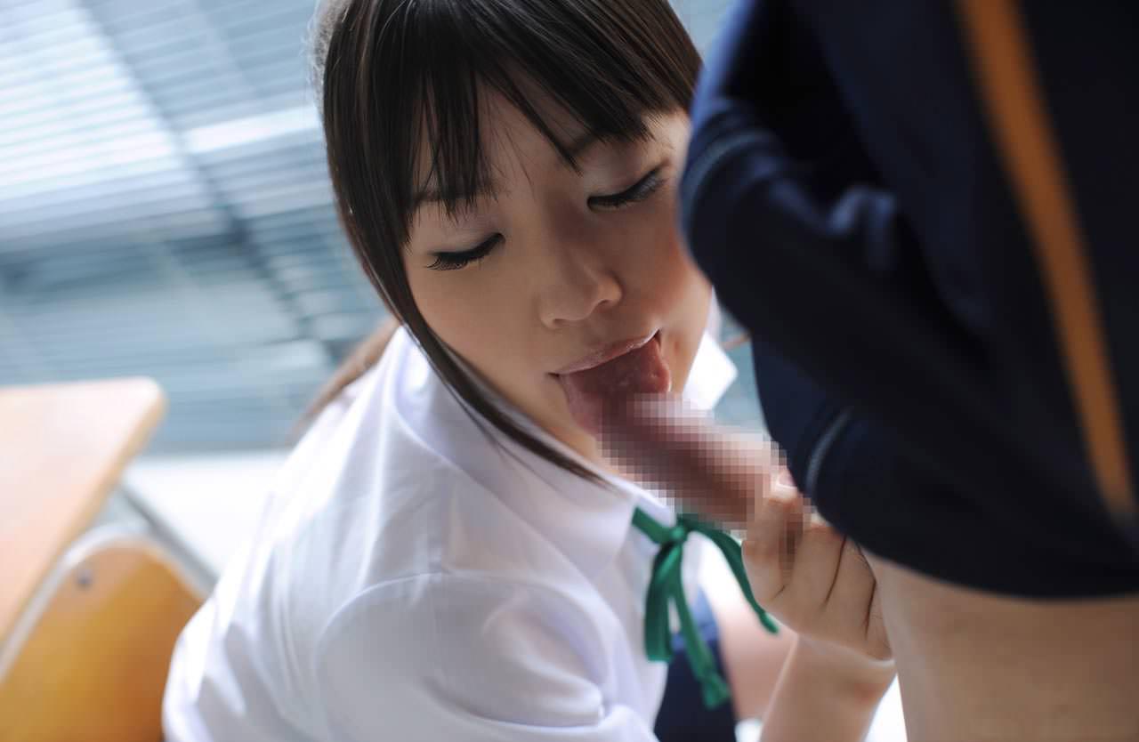 三次元 3次元 エロ画像 JK 女子校生 フェラチオ コスプレ べっぴん娘通信 13