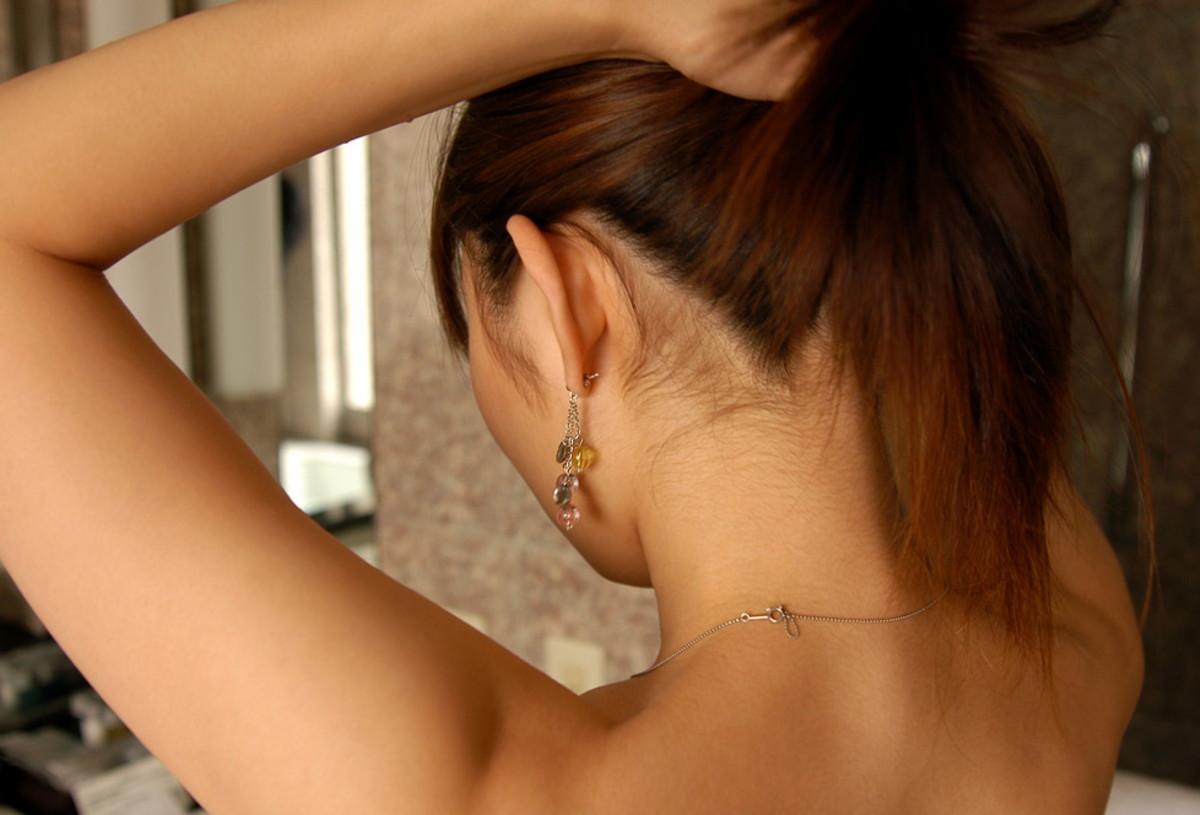 三次元 3次元 エロ画像 髪 かきあげる ヌード べっぴん娘通信 14