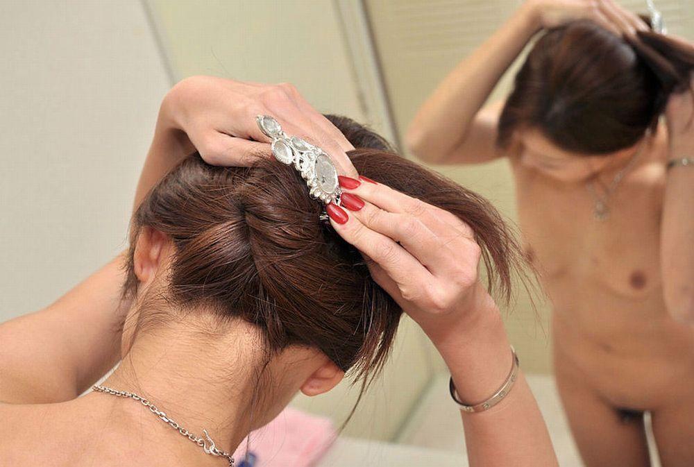 三次元 3次元 エロ画像 髪 かきあげる ヌード べっぴん娘通信 18